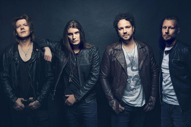 André Linmanin uusi yhtye kiertää keikoilla Euroopassa.