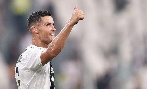 Cristiano Ronaldon Juventus tulee vierailulle Manchester Unitedin kotikentälle.