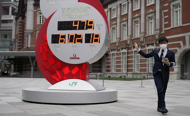 Tokion olympialaskuriin tuli vuosi lisää aikaa.