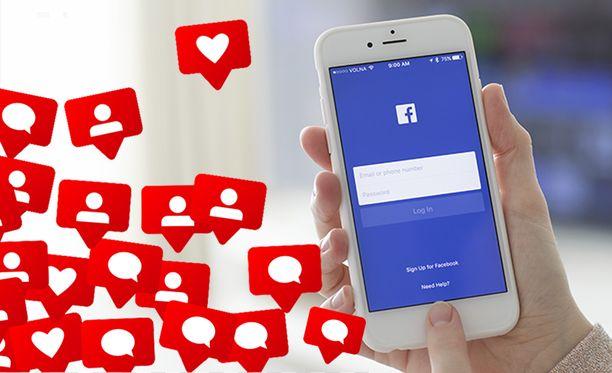 Facebook antaa käyttäjien päättää, miten sovelluksen sisällä näytetään ilmoituksia.