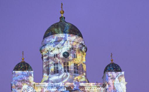 Lux Helsinki tulee taas – Tuomiokirkko saa värikkään ulkoasun