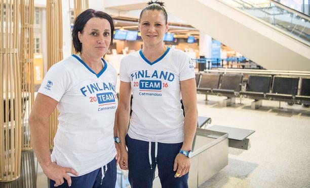 Maarit Teurosen ja Mira Potkosen yhteistyö on ollut tuloksekasta.
