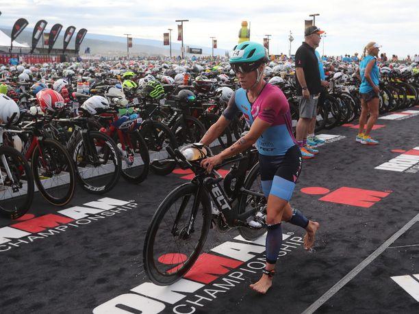Trithlonisti Kaisa Sali ylsi seitsemänneksi Havaijin Ironman-kisassa.