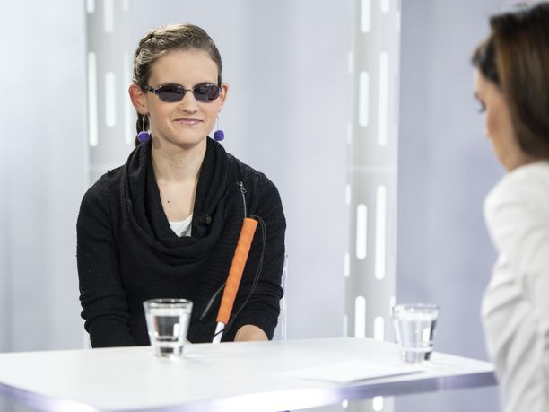 Ronja Oja käväisi Susanne Päivärinnan vieraana.