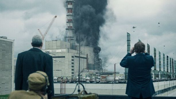 Vuonna 1986 tapahtuneesta ydinvoimalaonnettomuudesta on tehty viisiosainen sarja.