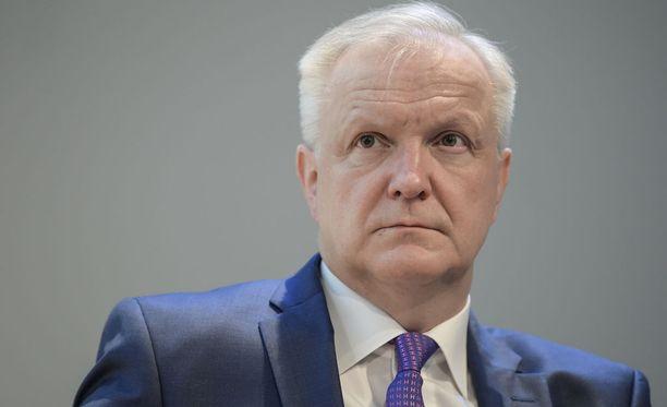 Suomen Pankin varapuheenjohtajana toiminut Olli Rehn on nimitetty Suomen Pankin pääjohtajaksi.