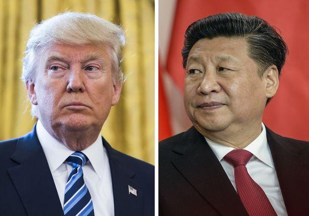 Trumpin mukaan hänellä ja Xillä on hyvät kemiat yhdessä.