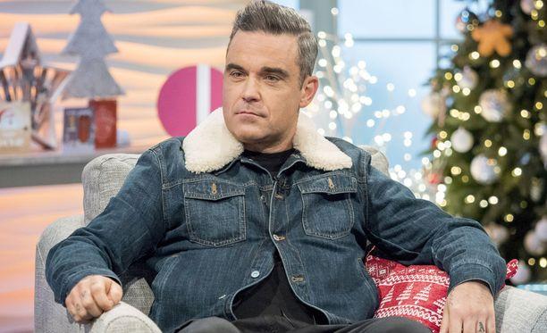Robbie Williams on kärsinyt oudoista oireista.