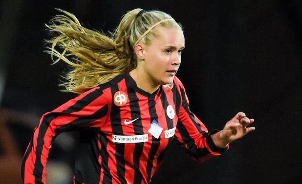 Iina Salmi pukeutuu jatkossa Ajaxin paitaan.