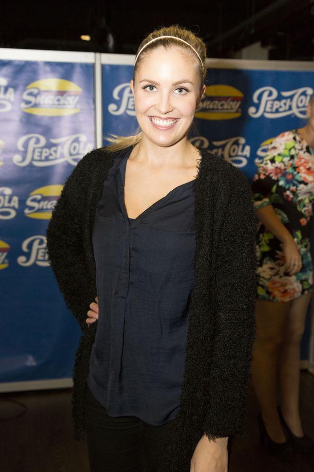 Niina Lavonen sai esikoisensa heinäkuussa.