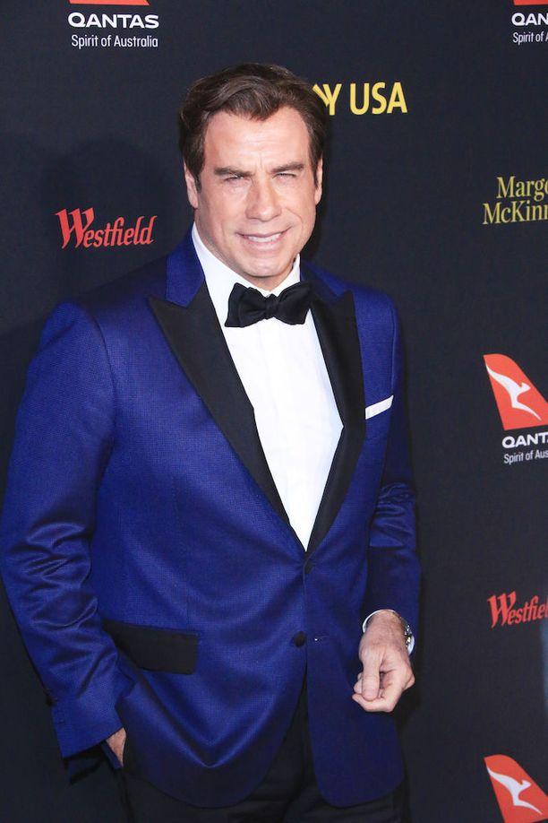 John Travolta G'Day -gaalassa viime tammikuussa.