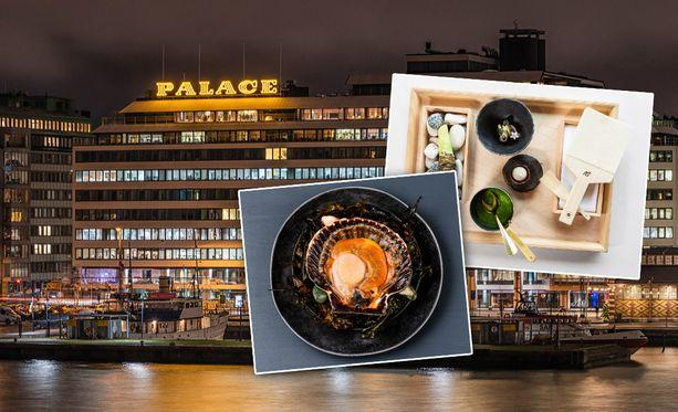 Listan ykkönen ravintola Palace havittelee toista Michelin-tähteä.