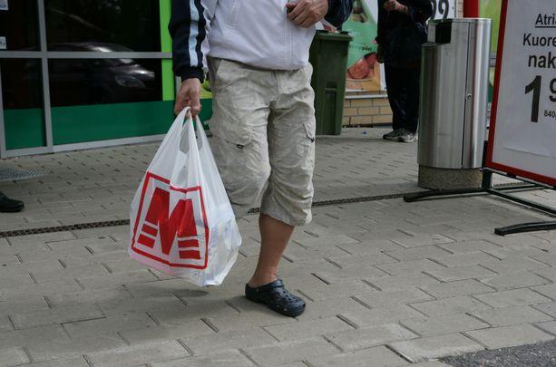 Kihniön M-Market on joutunut nettihäiriköinnin uhriksi. Kuvituskuva.