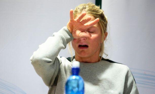 Therese Johaug aikoo jatkaa kisaamista, kunnes häntä estetään hiihtämistä.