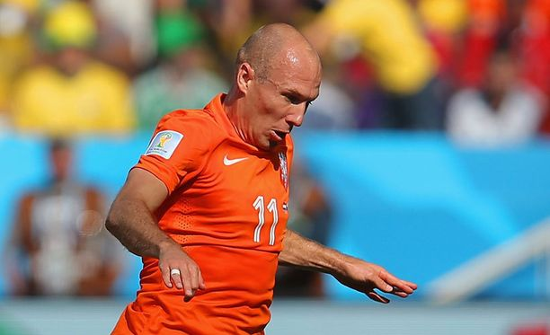 Arjen Robben oli jälleen vaarallinen.