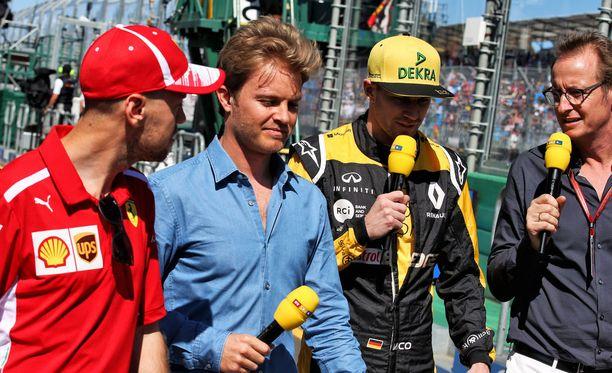 Sebastian Vettelin tunarointi kummastutti Nico Rosbergia.