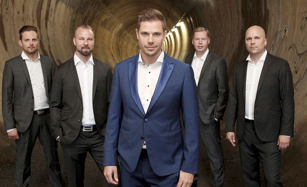 Juha Metsäperä on toiminut Taikakuu-yhtyeen solistina reilun vuoden verran.