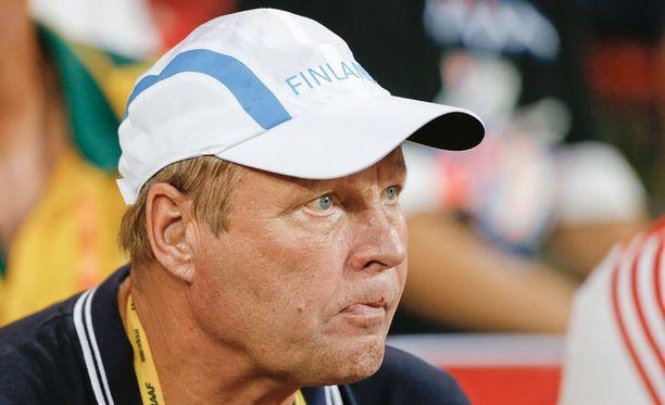 Kari Ihalainen on arvostettu keihäsvalmentaja.