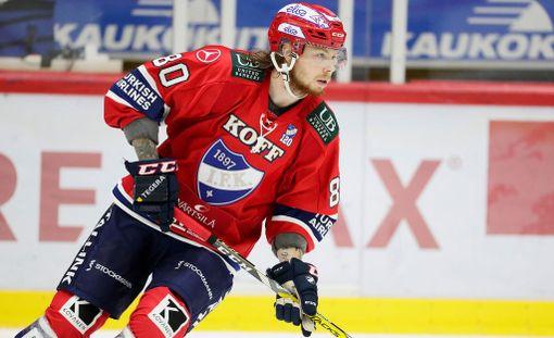 Thomas Nykopp teki HIFK:n voittomaalin.