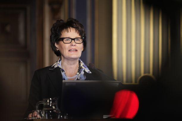 Oulun kaupunginjohtaja Päivi Laajala.
