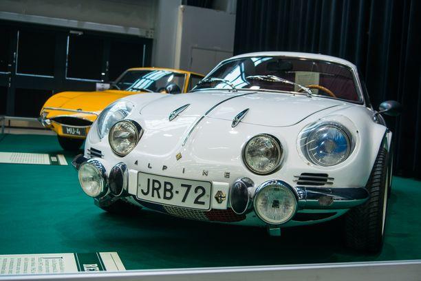 1962-1977 valmistettu Renault Alpine A110, pieni ja kiukkuinen ranskalainen.