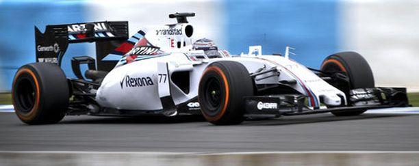 Valtteri Bottas oli aamupäivän nopein kuljettaja.
