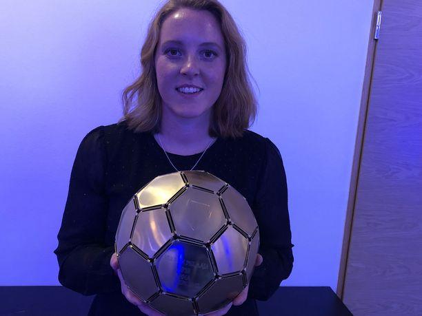 Anna Westerlund pelaa Mestarien liigaa.