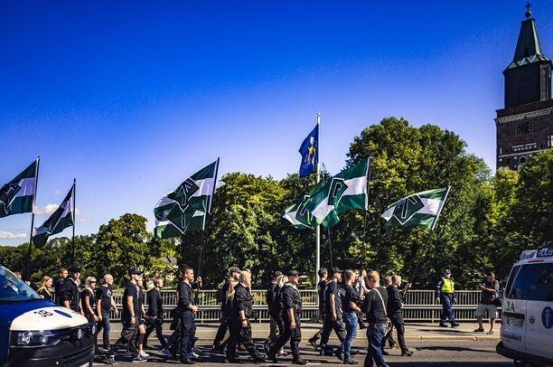 Pohjoismainen vastarintaliike on tällä hetkellä toimintakiellossa.