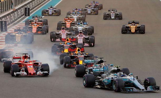 F1-sarja näyttää tulevalla kaudella kovin erilaiselta kuin aikaisempina vuosina.