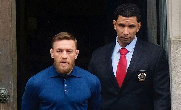 Conor McGregor joutui huhtikuun alussa vaikeuksiin raivokohtauksensa takia.