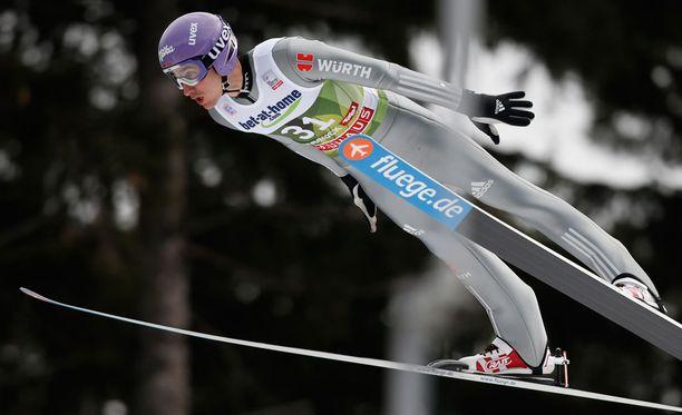 Martin Schmitt muistetaan Janne Ahosen kilpakumppanina.