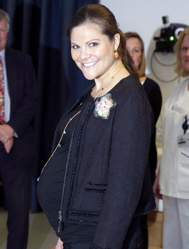 Prinsessa Victorian esikoisvauva syntyy pian.