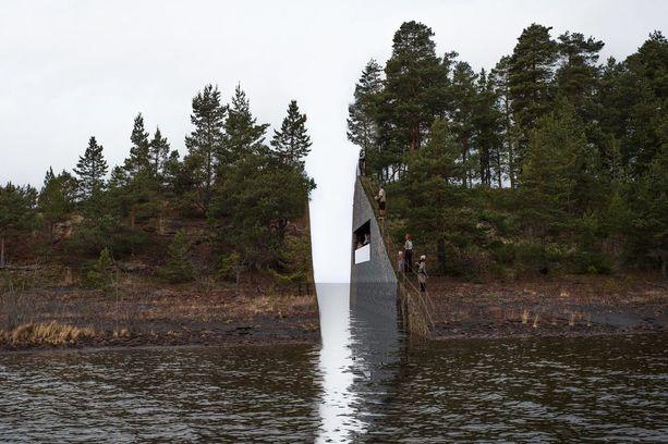 """Jonas Dahlbergin suunnitelma """"Muistojen haava""""-muistomerkki jäänee pelkäksi luonnokseksi."""