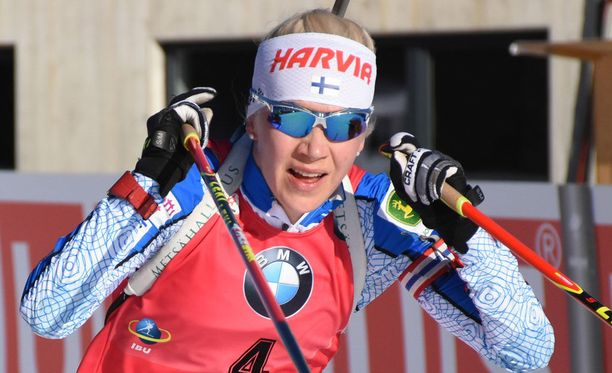 Kaisa Mäkäräinen on valmis hiihtämään lauantain pikakisassa.
