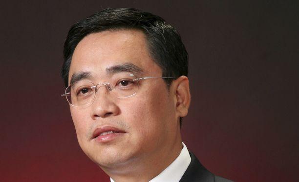 Wang Jianin henkilökohtainen omaisuus on noin 1,5 miljardia euroa.