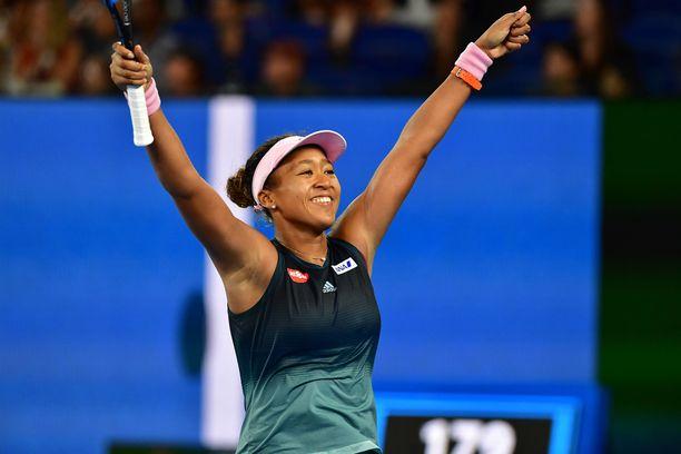 Naomi Osaka pelaa Australian avointen finaalissa.