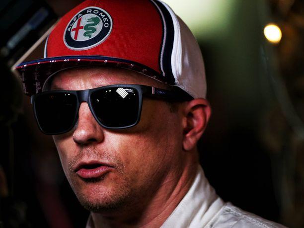 Kimi Räikkönen ei varsinaisesti iloinnut aika-ajotuloksestaan, vaikka viikonlopun tapahtumiin nähden kyseessä oli vähintäänkin kelvollinen suoritus.