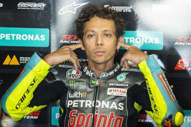 Valentino Rossi on ollut MotoGP:n kirkkain tähti vuosia.