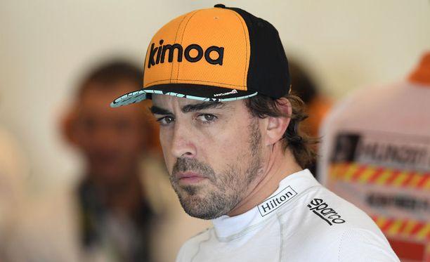 Fernando Alonson F1-ura päättyy 17 kauden ja tällä tietoa 312 GP-startin jälkeen.