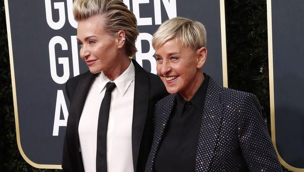Portia de Rossi ja Ellen DeGeneres ovat olleet yhdessä yli 15 vuotta.