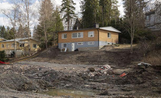 Rinne sortui talon liepeiltä viime syyskuussa.