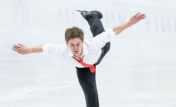 Valtter Virtanen edusti Suomea Helsingin MM-kisoissa viime keväänä.
