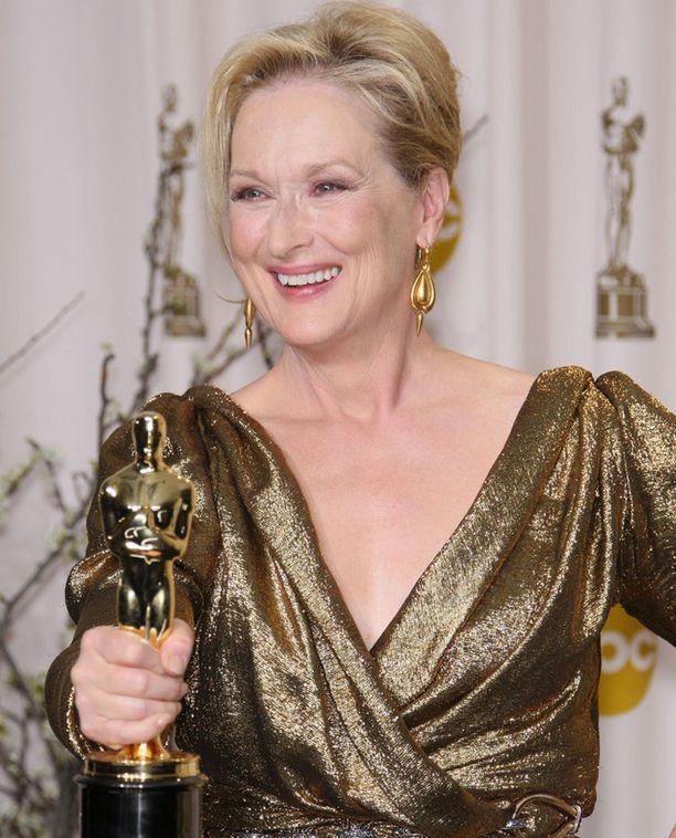 Meryl Streep pääsi mukaan Voguen kuvagalleriaan.