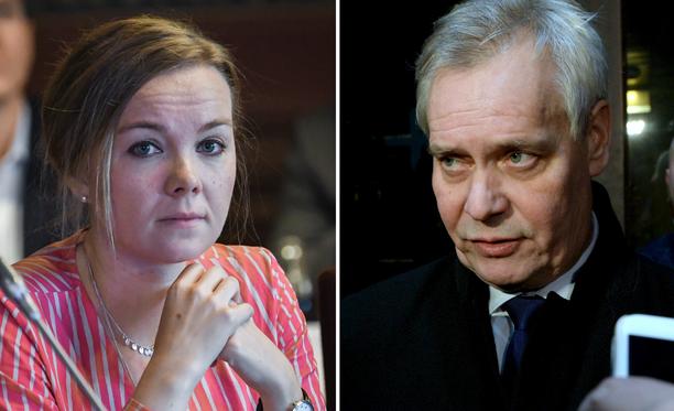 Valtio-opin dosentin mielestä olisi kaikkien osapuolten kannalta kiusallista, jos Antti Rinne ja Katri Kulmuni päätyisivät samaan neuvottelupöytään uutta hallitusta muodostettaessa.