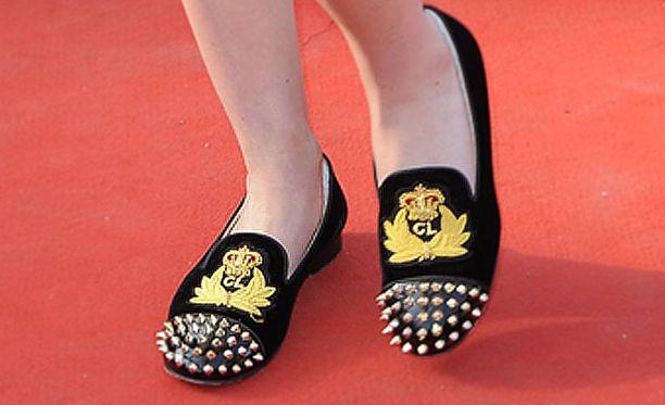 Näillä Christian Louboutinin loafereilla on hintaa yli 730 euroa.