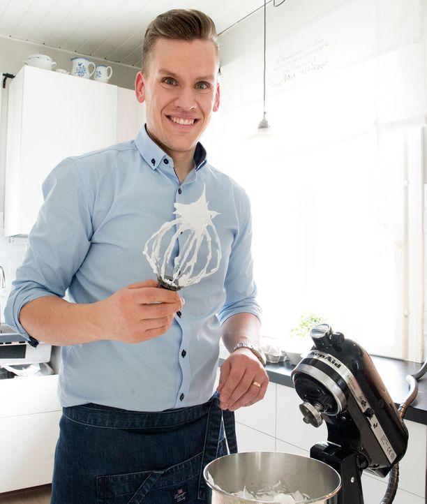 Anders Wikström rakastaa italialaista marenkia.