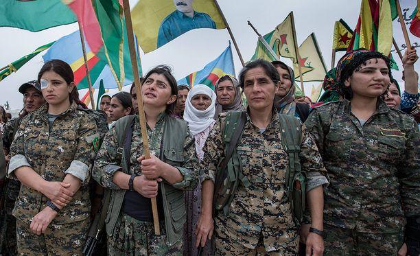 Isis pelkää erityisesti kurdien naistaistelijoita. He taistelevat urheasti ja olisi häpeällistä joutua naisen tappamaksi.
