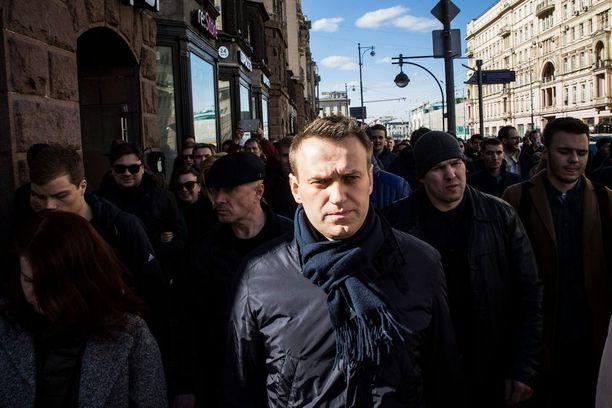 Oppositiopoliitikko Aleksei Navalnyin organisoimat mielenosoitukset olivat suurimmat Venäjällä moneen vuoteen.