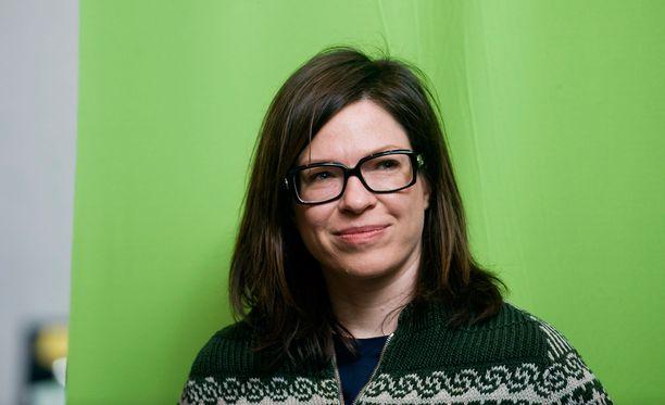 Anni Sinnemäki on vihreiden pormestariehdokas.