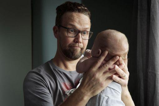 Paavo-vauva muuttaa Summasen näyttelemän Antin arjen.